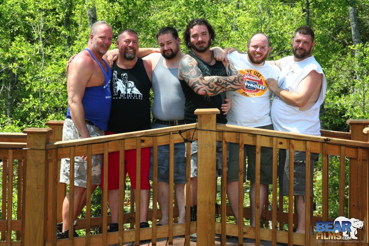 Bear Films Roys Hideaway Chubby Guys Fucking 01 Georgia 6 Way Amateur Chubby Bear Orgy