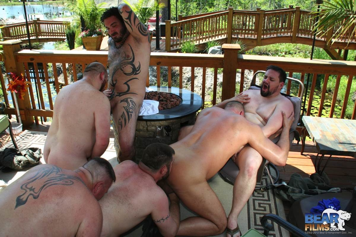 Bear-Films-Roys-Hideaway-Chubby-Guys-Fucking-06 Georgia 6 Way Amateur Chubby Bear Orgy