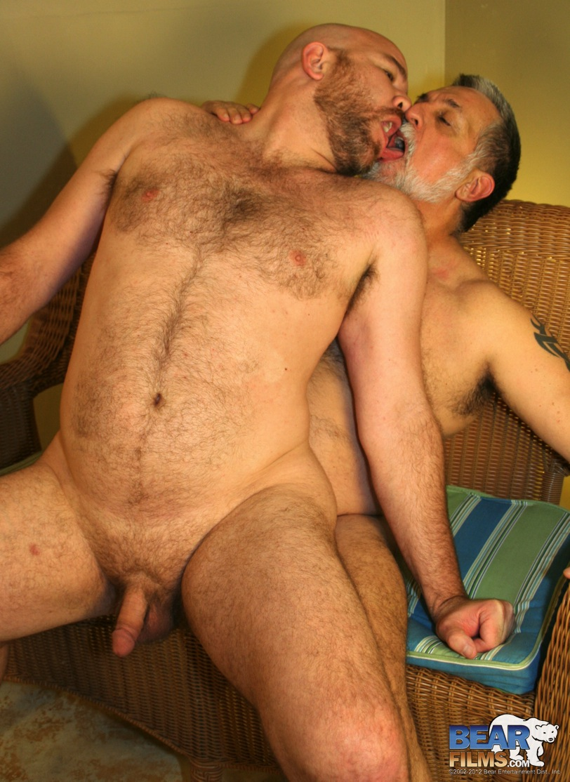 Bear Films Latin Wolf and Jose Lasano daddy fuck 08 Chubby Latin Daddy Bear Rims and Fucks His Chubby Latin Cub