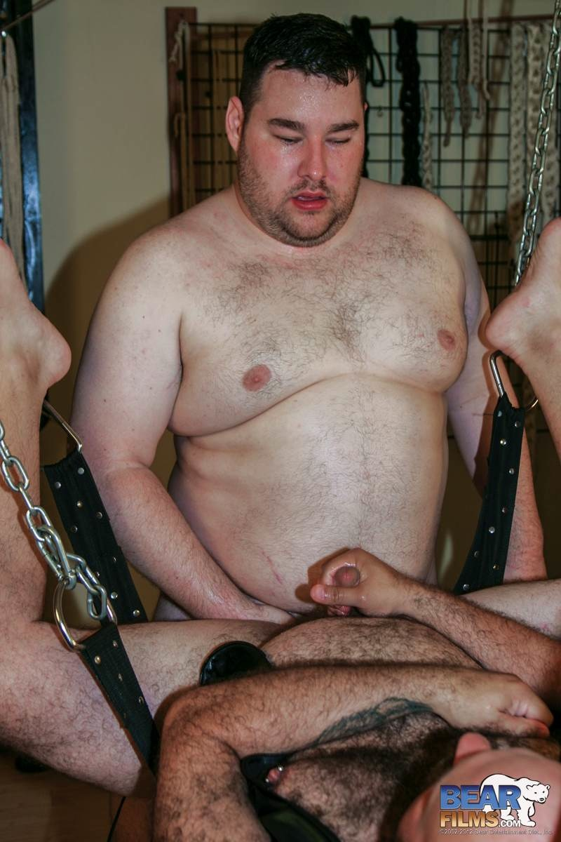 Bear-Films-Don-James-and-Michael-McQuaig-chubby-hairy-bears-barebacking-Amateur-Gay-Porn-12 Amateur Chubby Hairy Bears Barebacking in the Sling