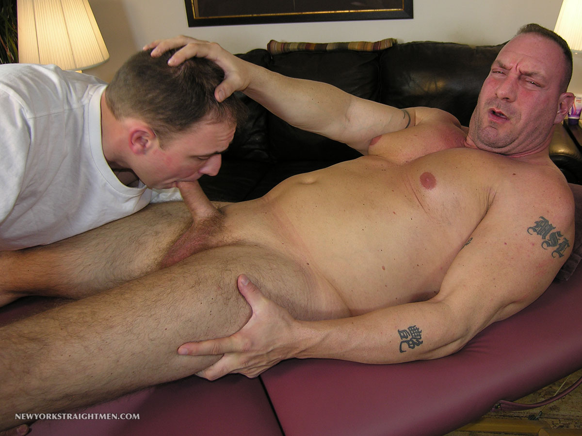 Cum fat anal mature gay guy