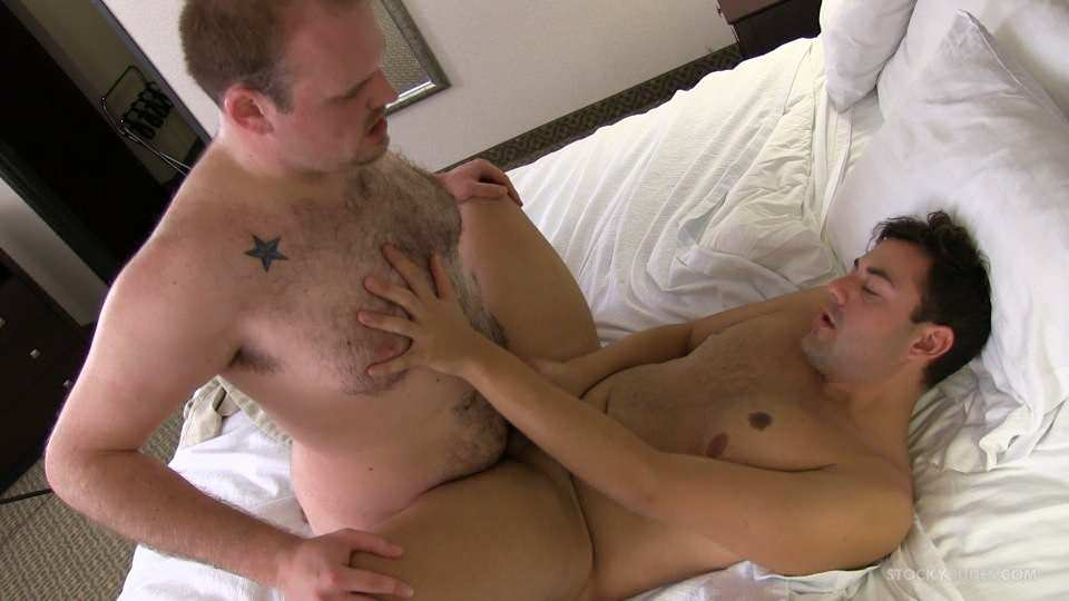 StockyDudes DEAN and LUKE Chubby guys barebacking Amateur Gay Porn 14 Amateur Chubby Bears In A Marathon Bareback Breeding Session