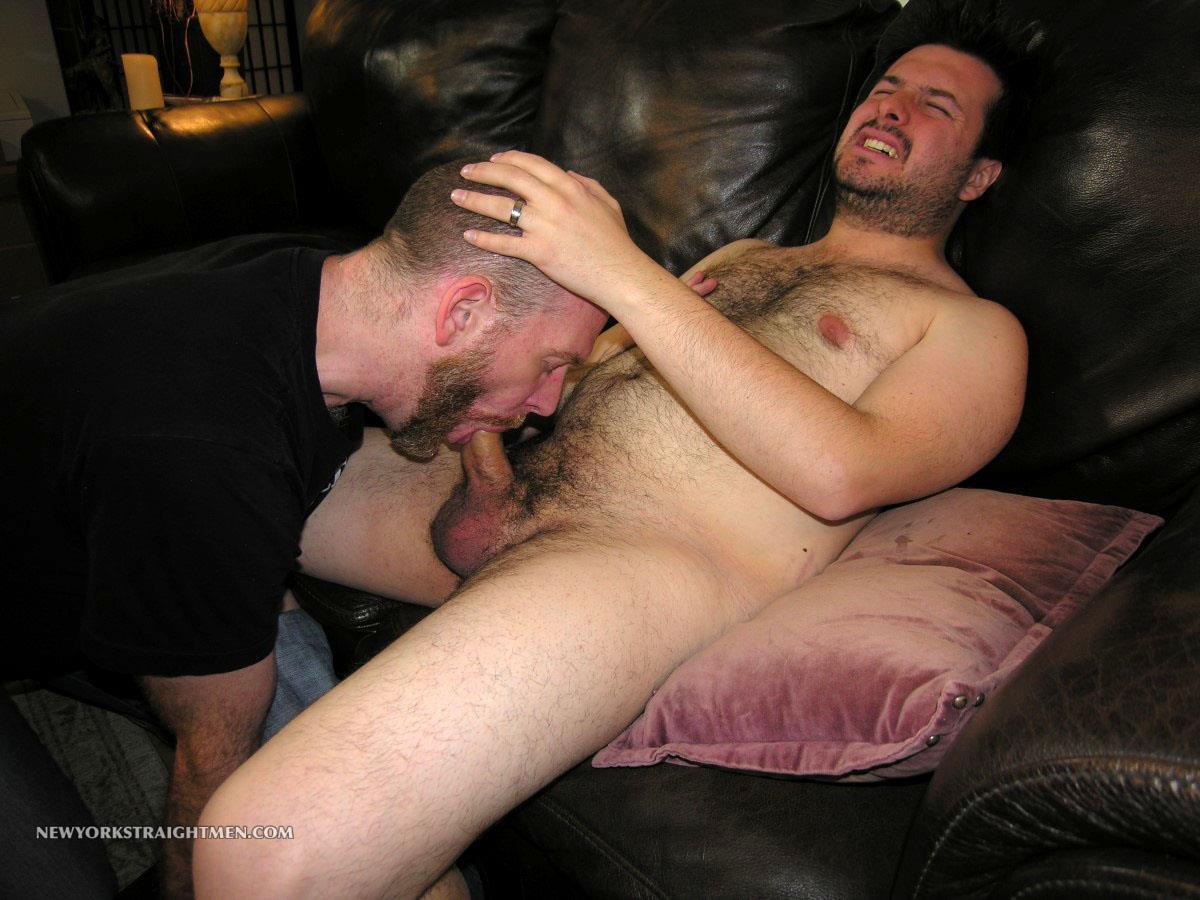 Amateur Straight Bear First Time Gay Blowjob