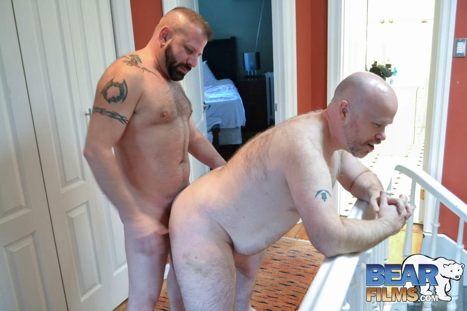 Bear Films Cooper Hill and Steve Brody Chubby Bears Fucking Amateur Gay Porn 04 Cooper Hill and Steve Brody: Chubby Hairy Bears Fucking