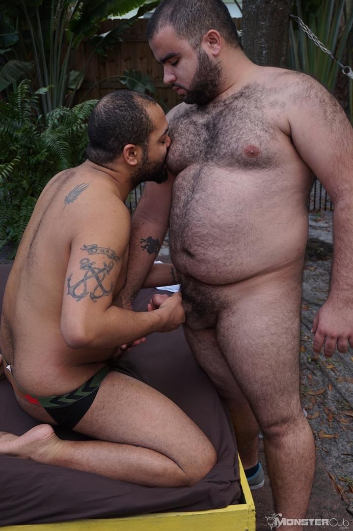 Monster Cub Gus and Rhino Hairy Chubby Cubs Barebacking Amateur Gay Porn 05 Hairy Chubby Cub Bears Fucking Bareback In The Backyard