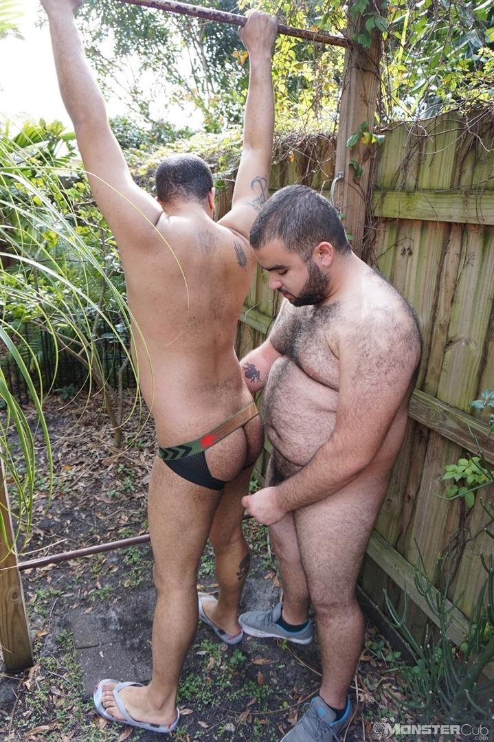 Monster Cub Gus and Rhino Hairy Chubby Cubs Barebacking Amateur Gay Porn 08 Hairy Chubby Cub Bears Fucking Bareback In The Backyard
