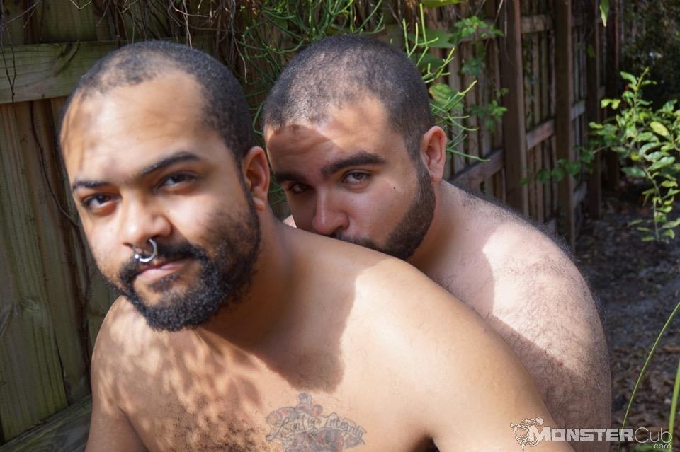 Monster Cub Gus and Rhino Hairy Chubby Cubs Barebacking Amateur Gay Porn 09 Hairy Chubby Cub Bears Fucking Bareback In The Backyard