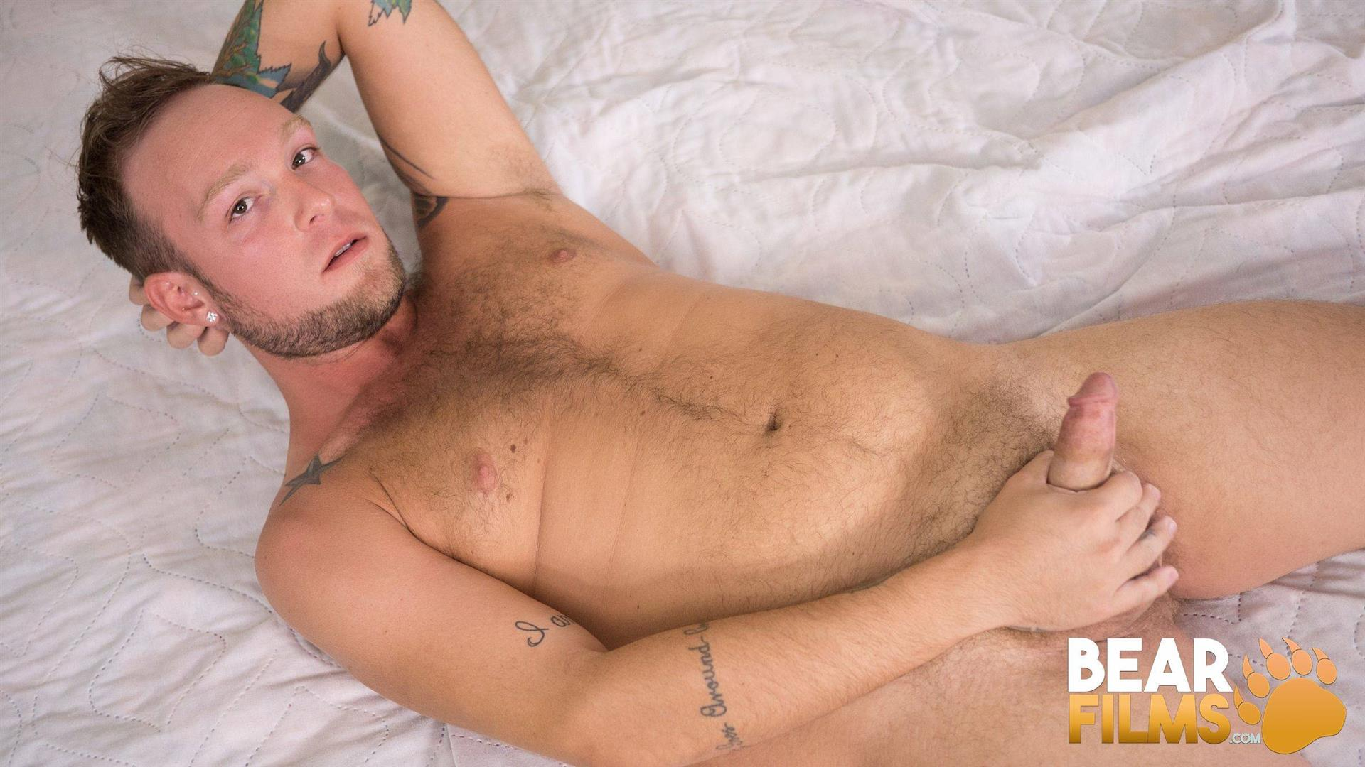 Bear-Films-Sebastian-Sax-Chubby-Bear-Jerking-Off-17 Hairy Chubby Bear Sebastian Sax Joins Bear Films