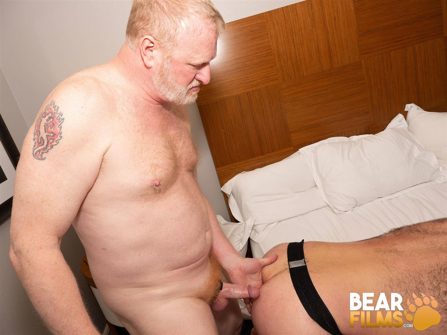 Bear-Films-Rusty-McMann-and-John-Pucker-Daddy-Bareback-Fucking-Younger-Cub-Video-19 Ginger Daddy Bareback Fucking A Hairy Chubby Cub