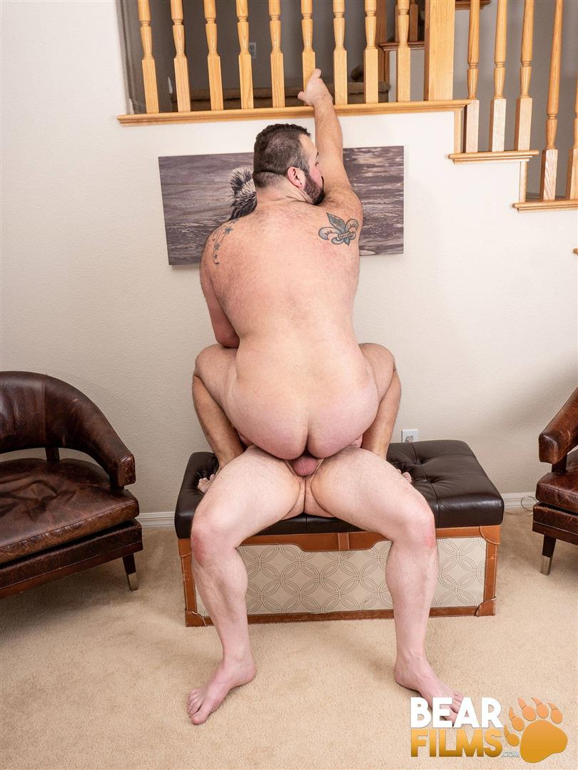 Bear-Films-Rex-Blue-and-John-Thomas-Chubby-Hairy-Bear-Getting-Fucked-Bareback-Video-21 Bear Films: John Thomas Barebacks Hairy Chubby Bear Rex Blue