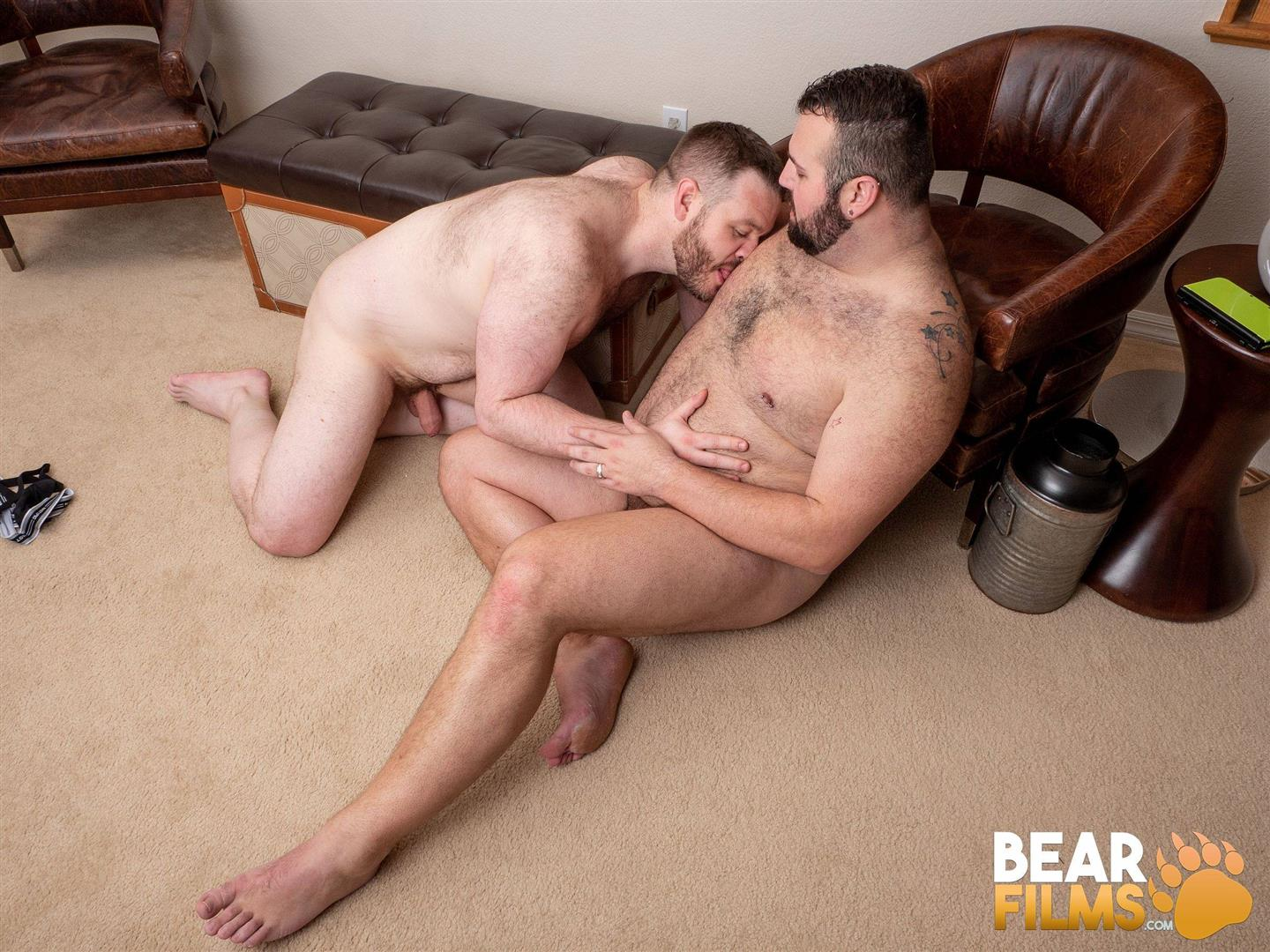 Bear-Films-Rex-Blue-and-John-Thomas-Chubby-Hairy-Bear-Getting-Fucked-Bareback-Video-25 Bear Films: John Thomas Barebacks Hairy Chubby Bear Rex Blue